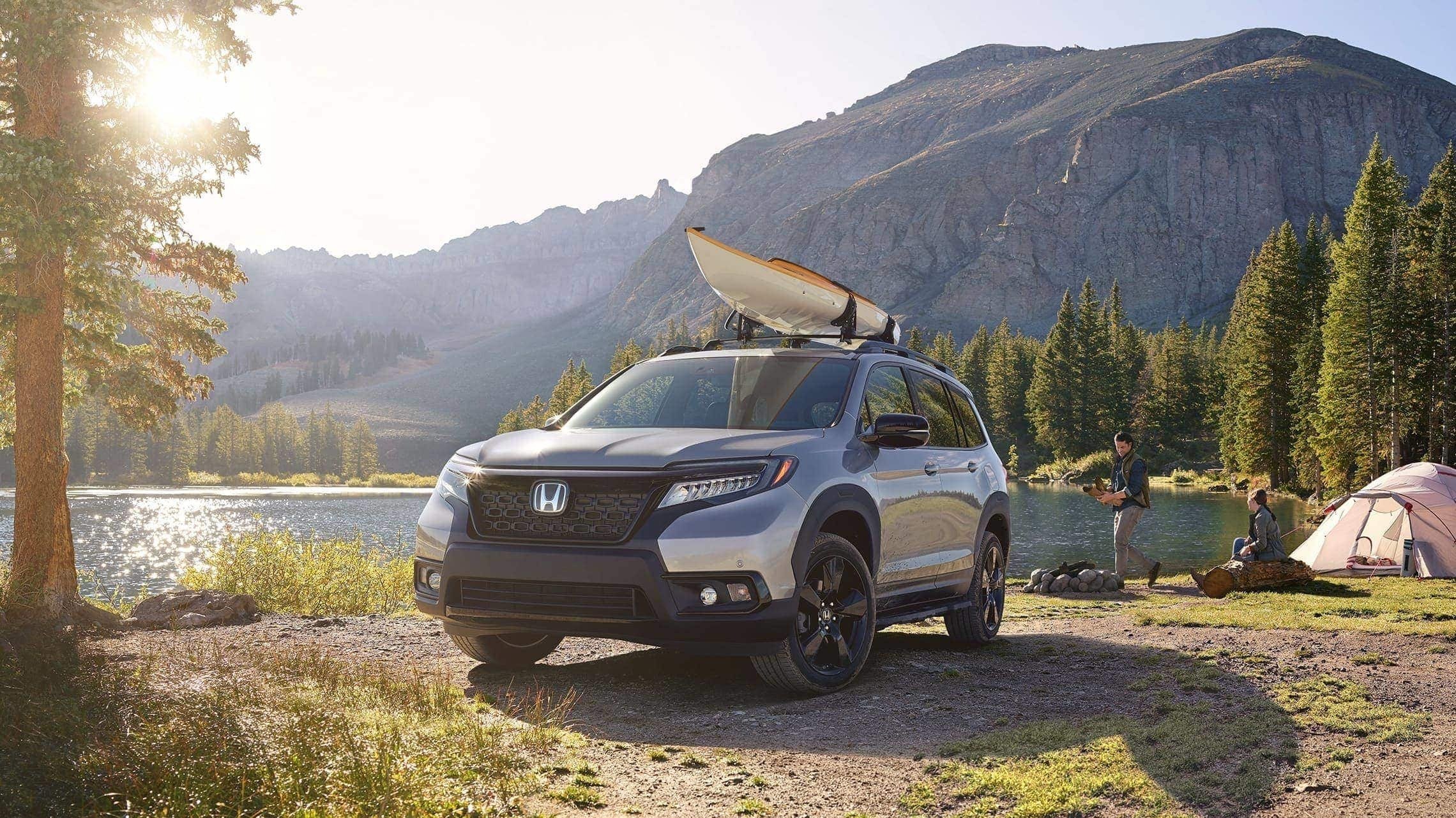 Honda Passport Gearing up for Adventure