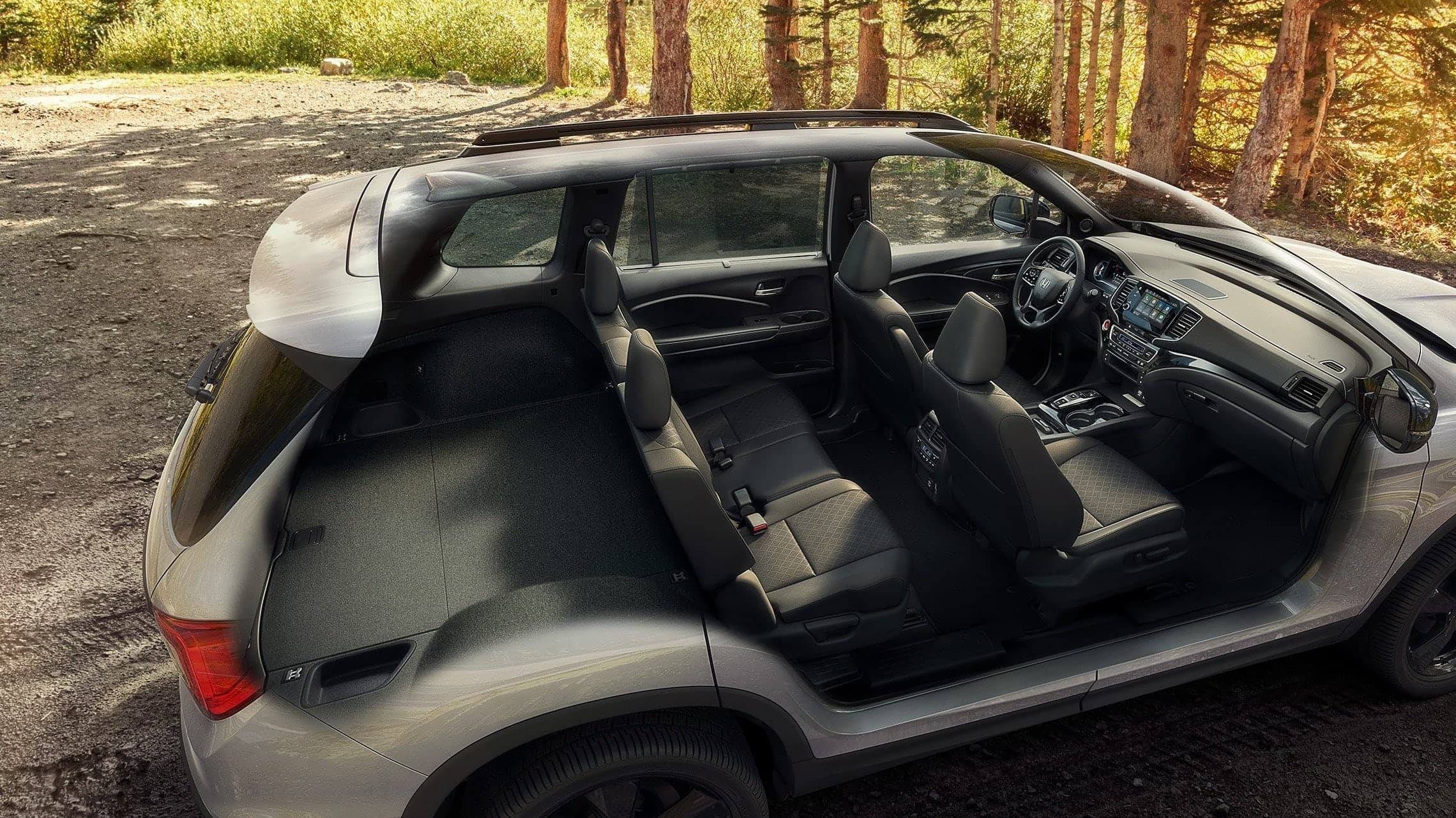 HOnda Passport has plenty of space for your gear