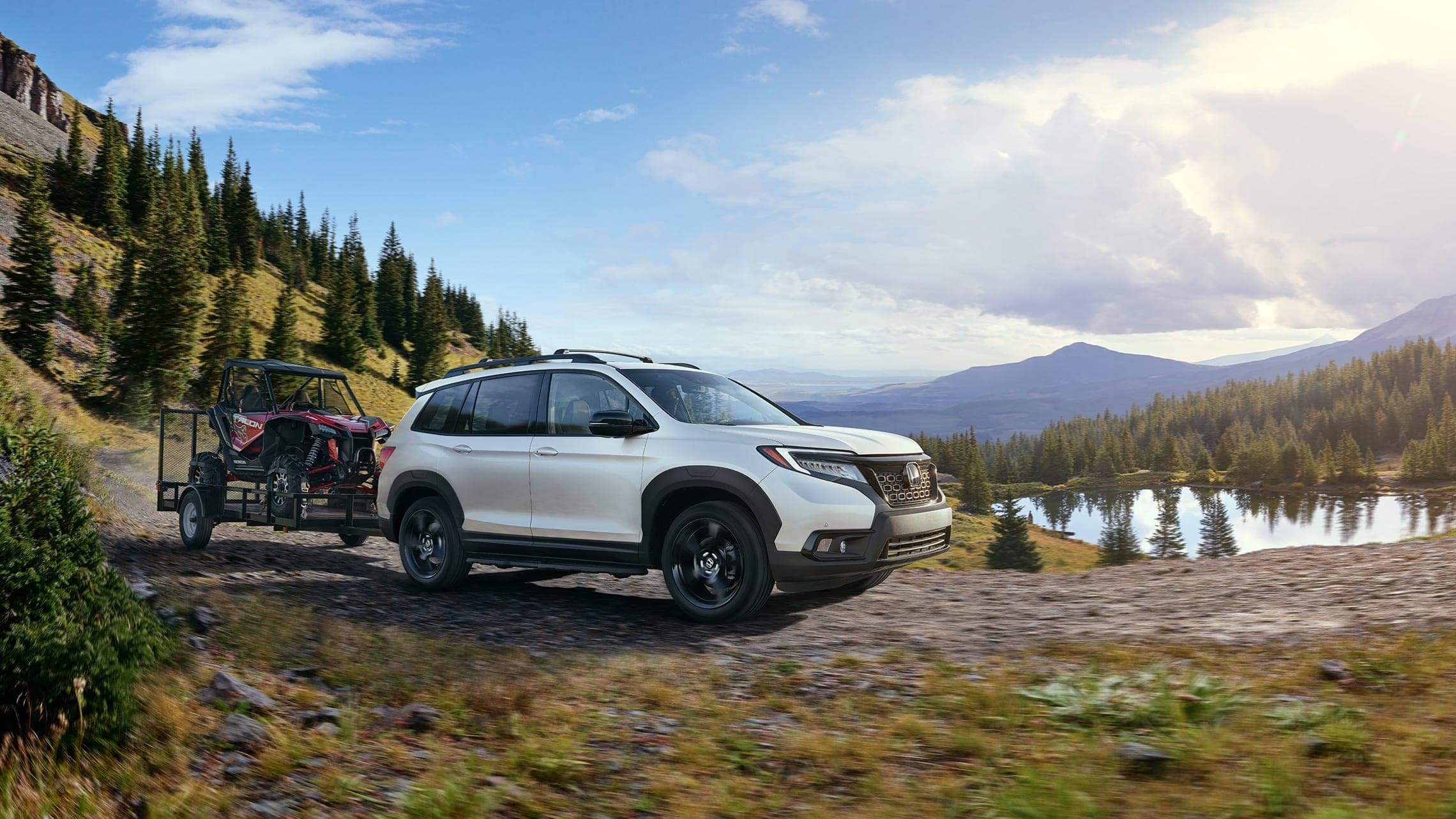 Honda Passport can tow up to 5,000 pounds!