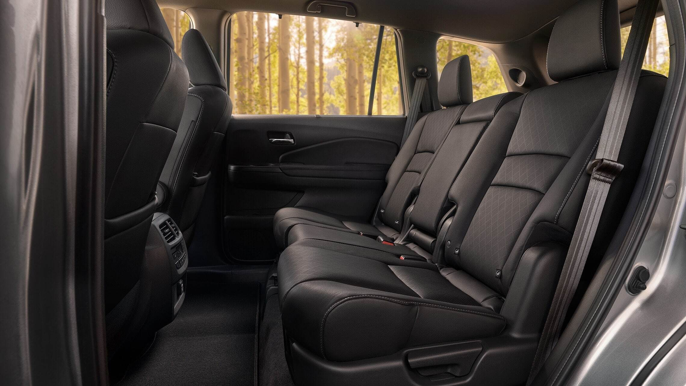 Honda Passport Spacious rear seats