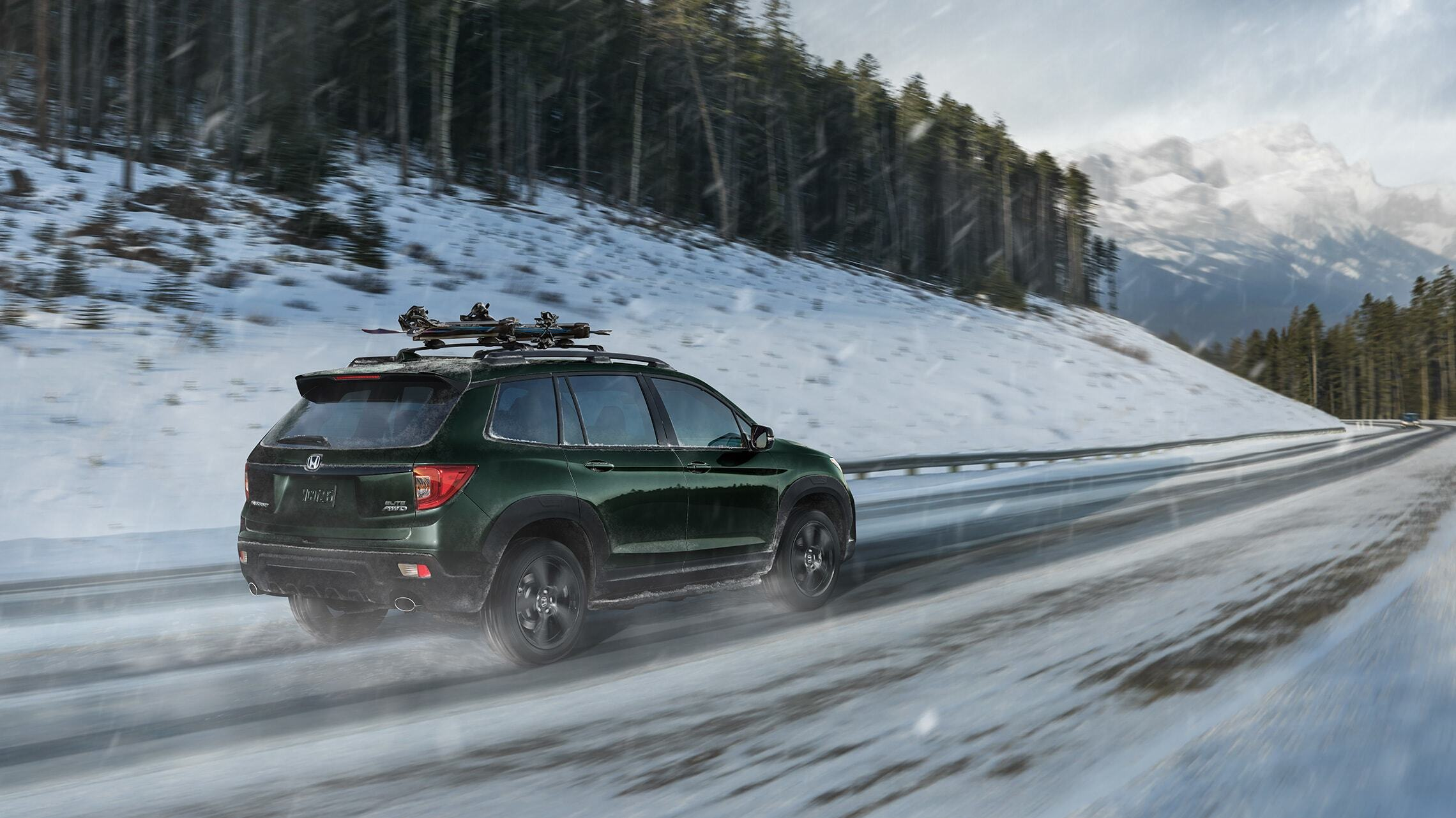 All-New Honda Passport in the Snow