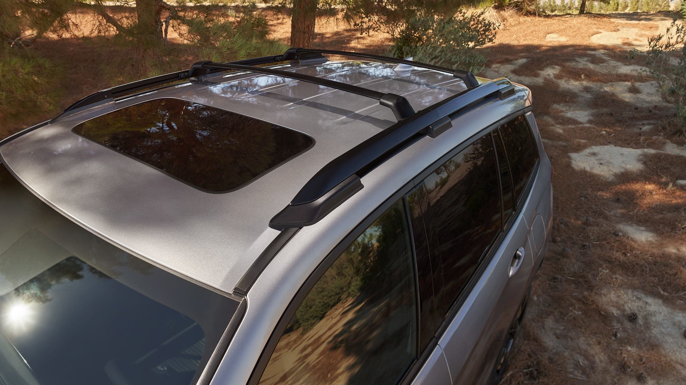 Honda Passport's Roof Rails can support up to 165 pounds