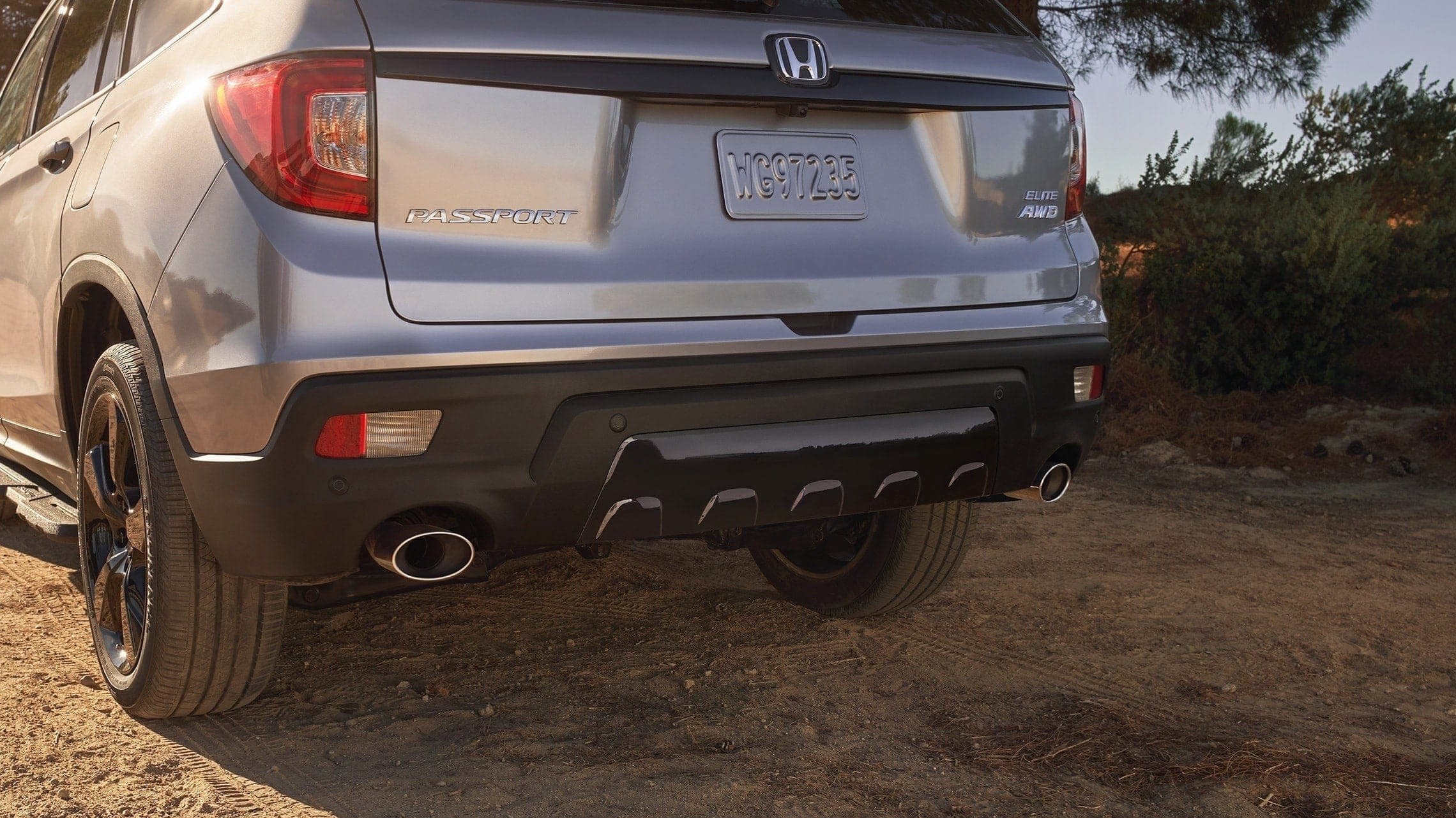 Honda Passport's Dual Exhaust