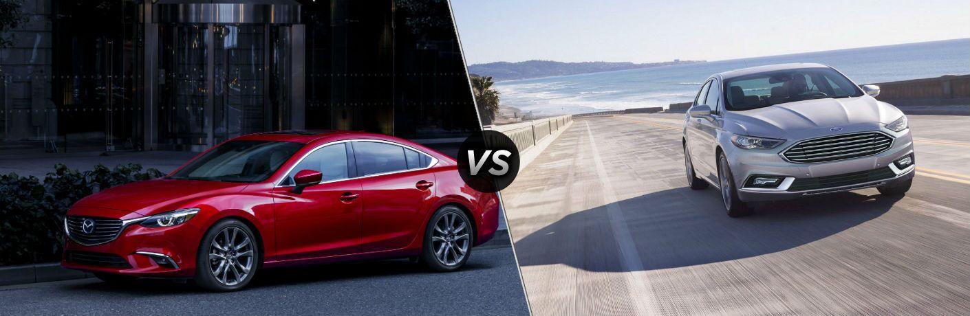 2017 Mazda6 vs 2017 Ford Fusion   Hickory Mazda
