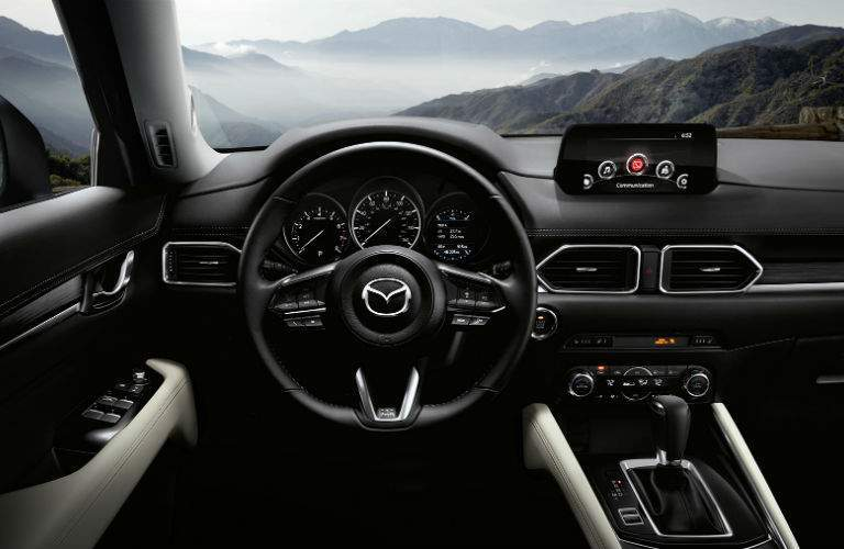 2017 Mazda CX-5 driver side interior