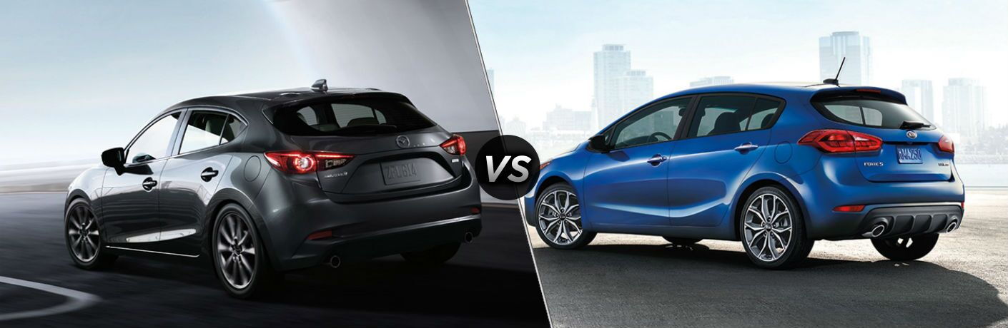 2018 Mazda3 5-Door vs 2018 Kia Forte5