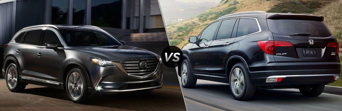 2018 Mazda CX-9 vs 2018 Honda Pilot