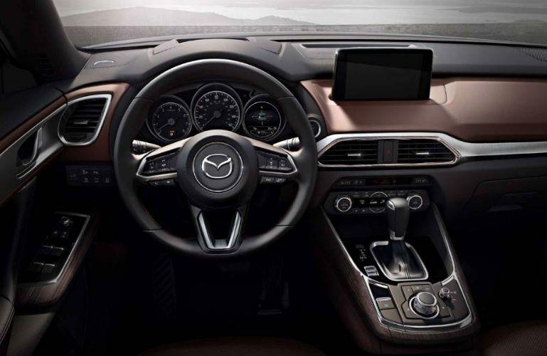 2018 Mazda CX-9 driver oriented front interior