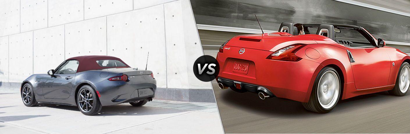 2018 Mazda MX-5 Miata vs 2018 Nissan 370Z Roadster