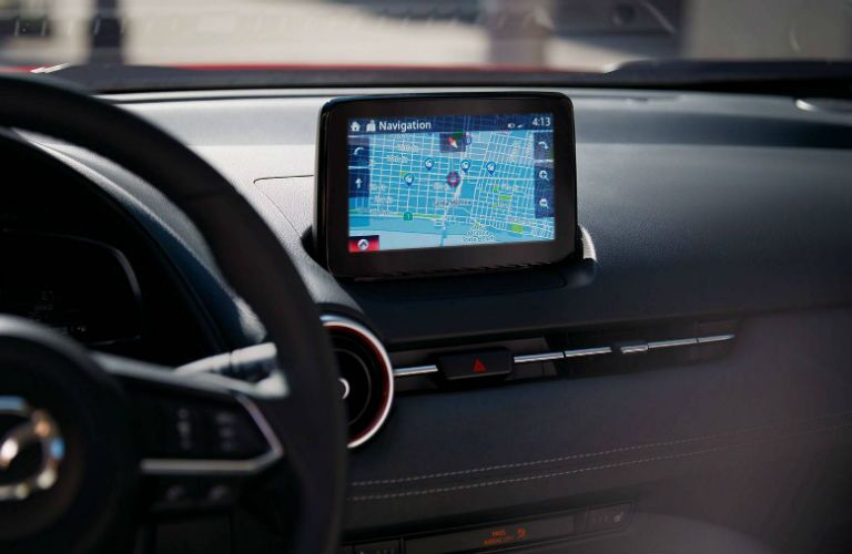 2019 Mazda CX-3 with navigational aid