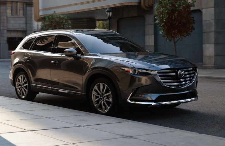 2019 Mazda CX-9 parked in a city