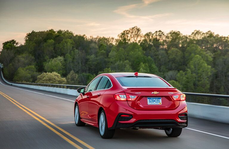 Red 2016 Chevrolet Cruze