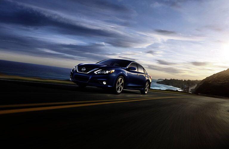 2017 Nissan Altima in blue