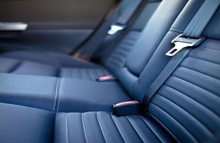 Back Seats of a Car