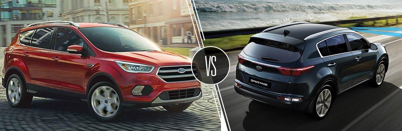 2019 Ford Escape vs 2019 Kia Sportage