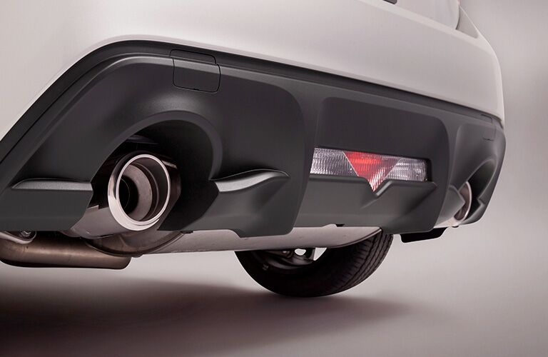 2019 Toyota 86 chrome-tipped tailpipes