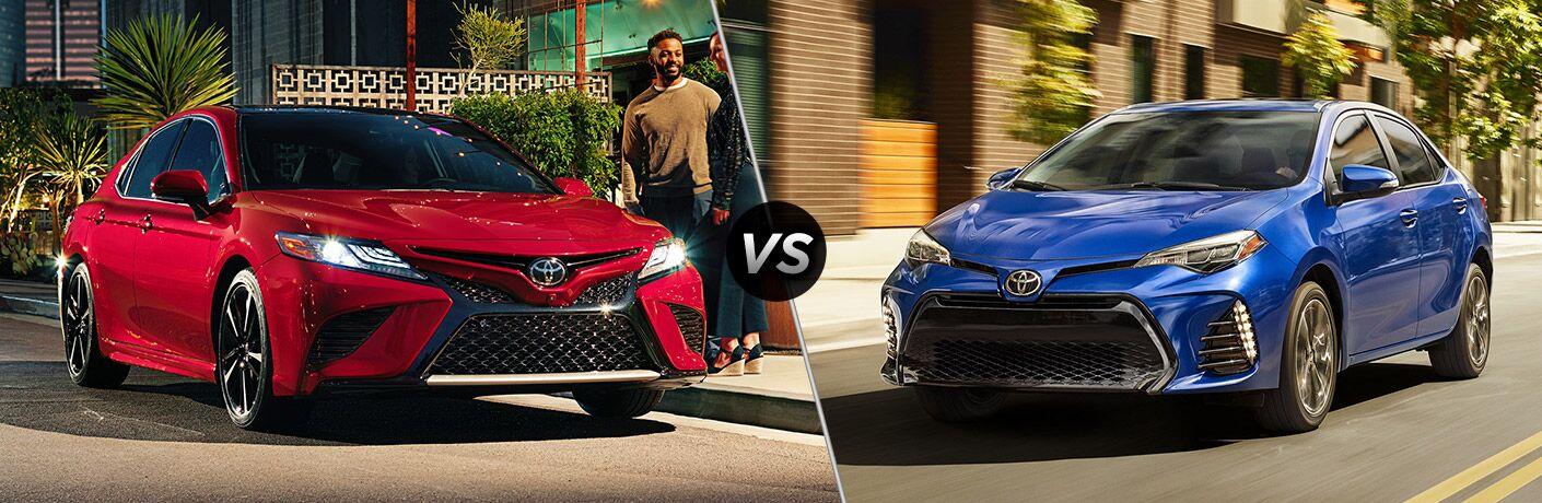 2019 Toyota Camry vs 2019 Toyota Corolla