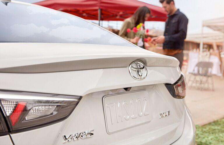 2019 Toyota Yaris exterior rear