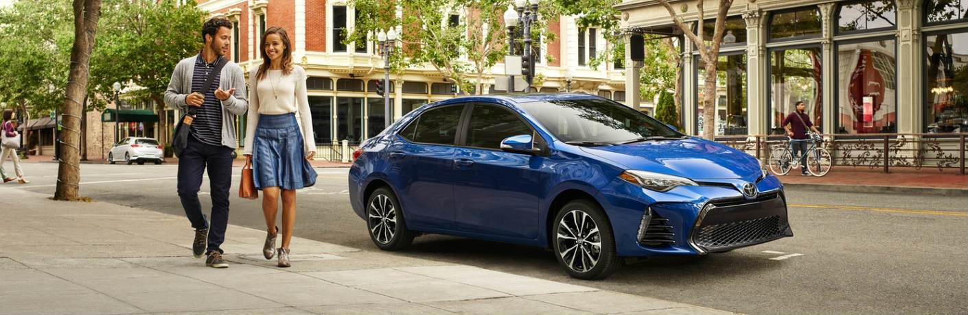 2019 Toyota Corolla parked on a city street