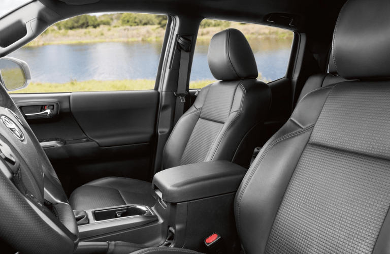 2019 Toyota Tacoma interior front seating
