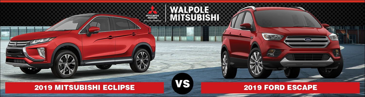 2019 Mitsubishi Eclipse Cross vs. 2019 Ford Escape
