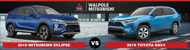 2019 Mitsubishi Eclipse Cross vs. 2019 Toyota RAV4