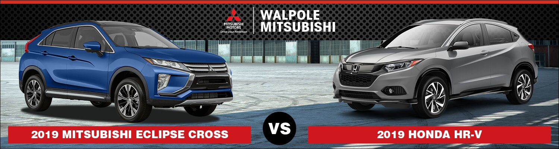 Comparison of the Mitsubishi Eclipse Cross and Honda HR-V