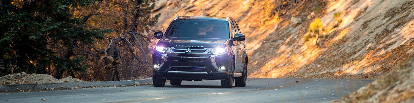 2018 Mitsubishi Outlander PHEV hybrid driving