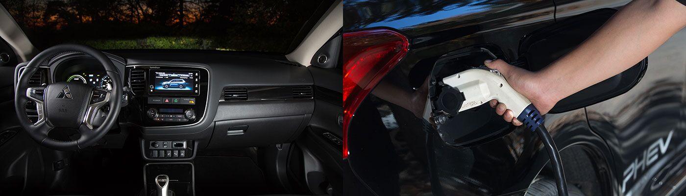 2018 Mitsubishi Outlander PHEV hybrid features