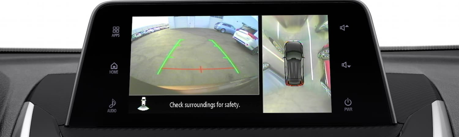 The back up camera on the 2019 Mitsubishi Eclipse Cross