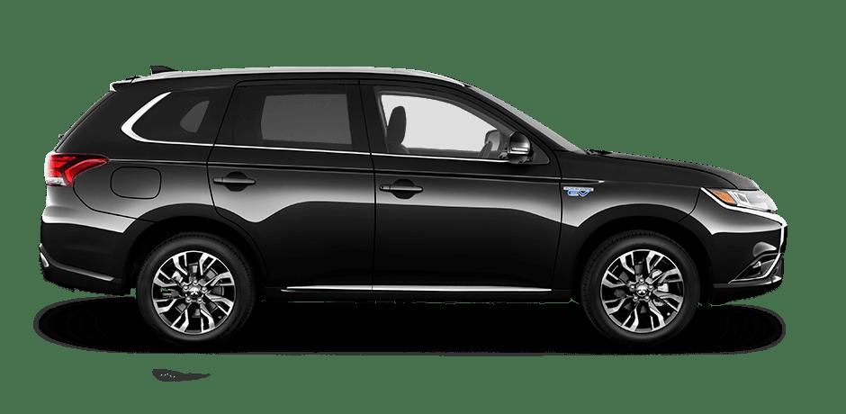Black Mitsubishi Outlander PHEV