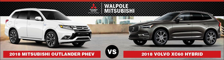 2018 Mitsubishi Outlander PHEV vs 2018 Volvo XC60 Hybrid