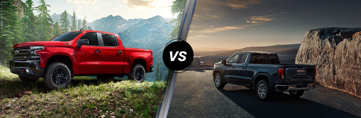 2019 Chevrolet Silverado 1500 vs 2019 GMC Sierra 1500