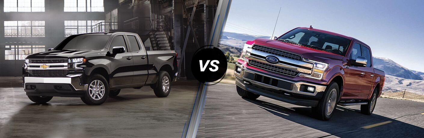 2019 Chevrolet Silverado 1500 vs 2019 Ford F-150