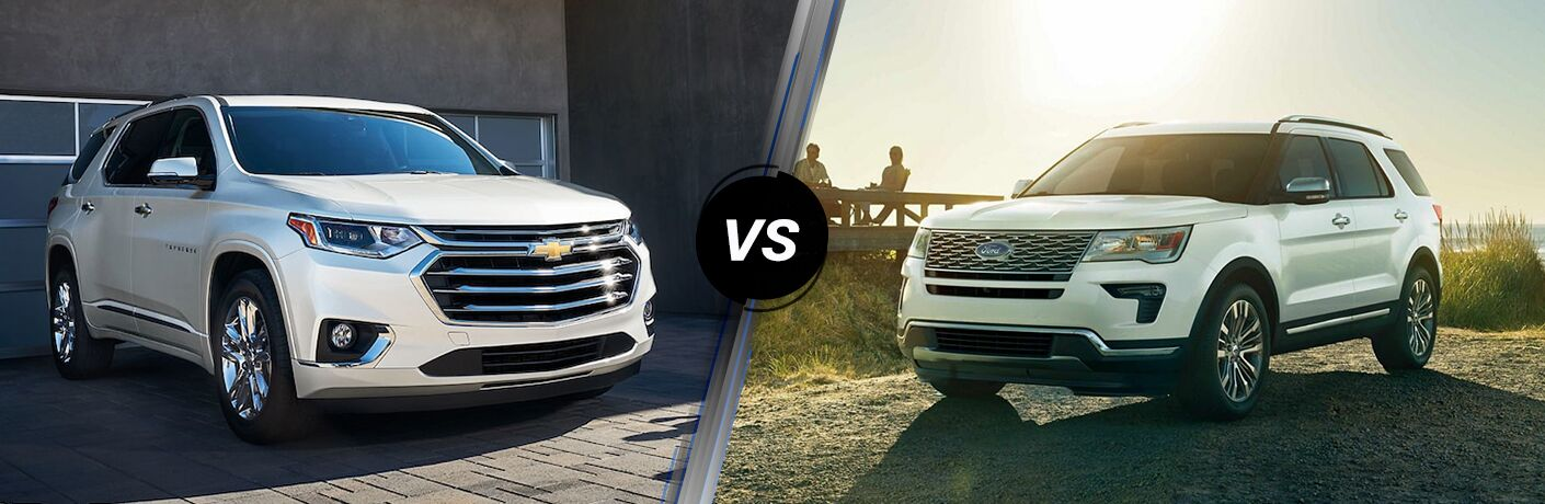 2019 Chevrolet Traverse vs 2019 Ford Explorer