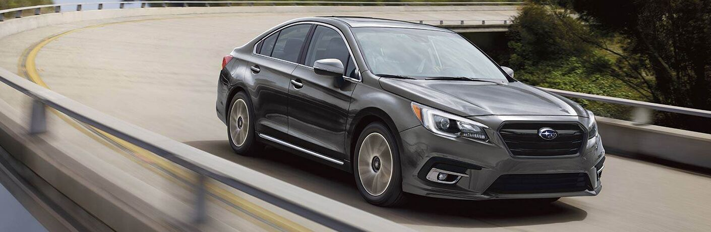 2019 Subaru Legacy Front View of Gray Exterior