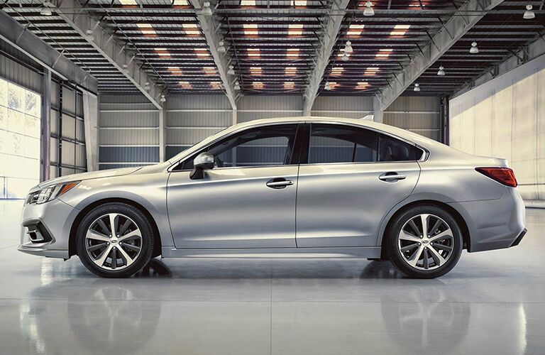 2019 Subaru Legacy Side View of Silver Exterior