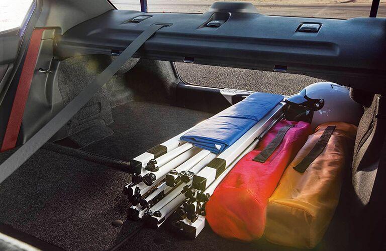 2019 Subaru WRX cargo area