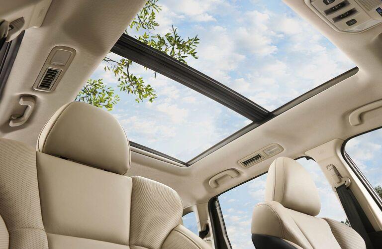 2020 Subaru Ascent sunroof