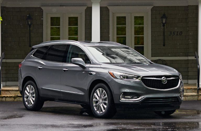 2020 Buick Enclave parked in front of a building