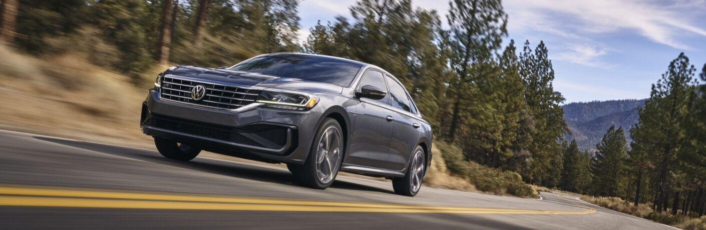 2020 Volkswagen Passat Front View of Metallic Exterior