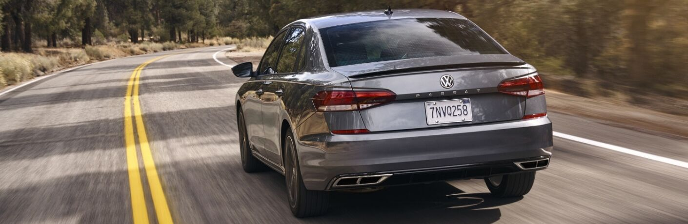 2020 Volkswagen Passat Rear View of Metallic Exterior