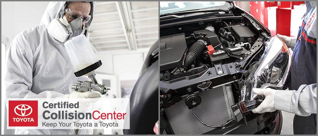 Crown Motors Toyota Collision Center. Toyota Certified Collision Center in Holland, MI
