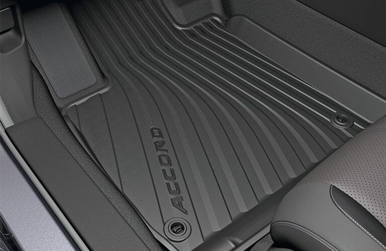 2018 Honda Accord Touring rubber floor mats