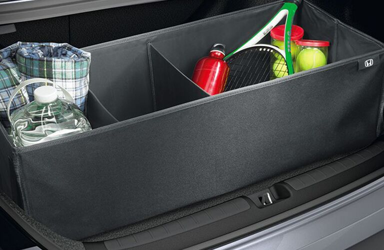 2018 Honda Accord Touring trunk with cargo management