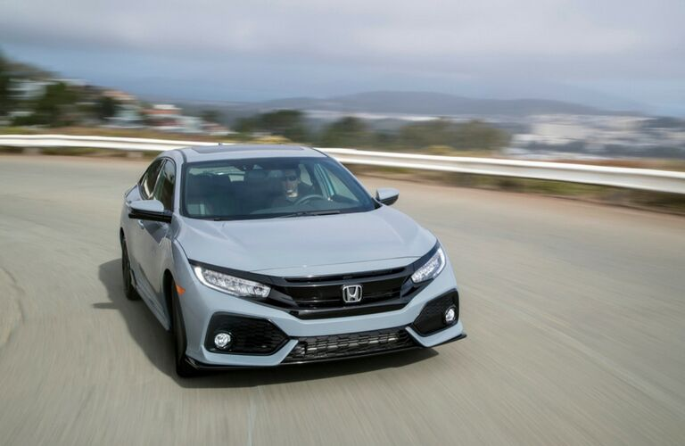 2018 Honda Civic Hatchback exterior front view