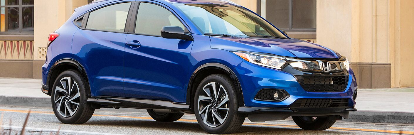 2019 Honda HR-V in the city