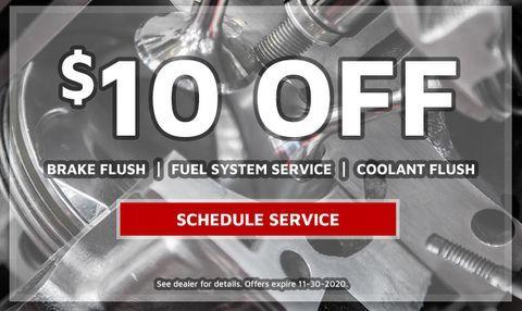 $10 OFF- Brake Flush | Fuel System Flush | Coolant Flush