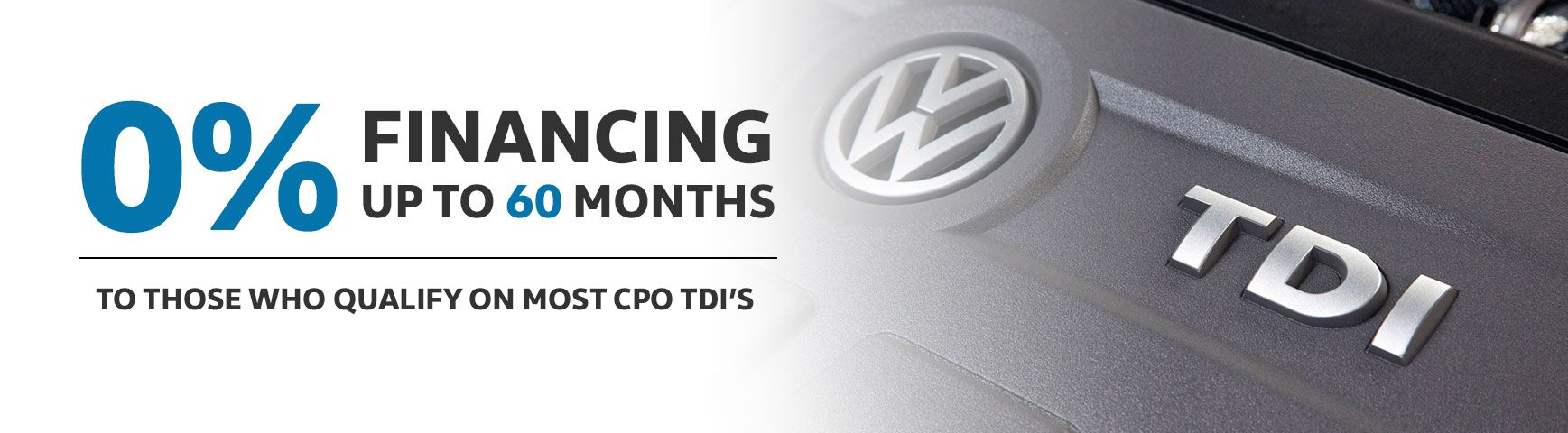 TDI - 0% APR Available