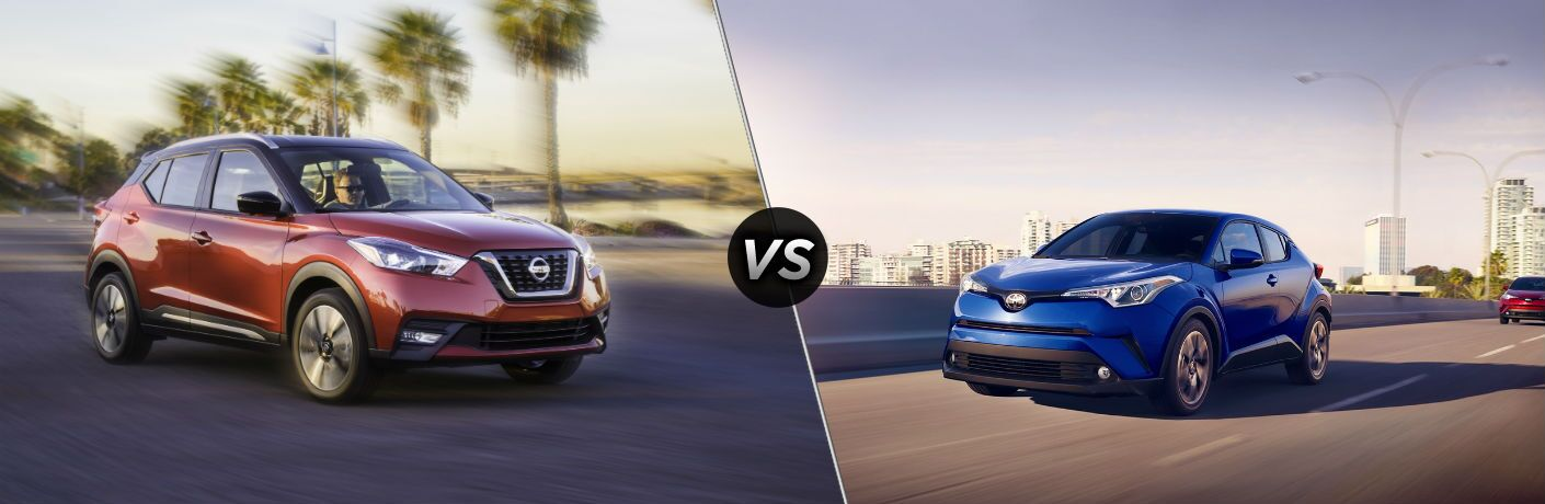2018 Nissan Kicks vs 2018 Toyota CH-R